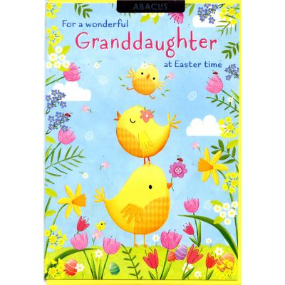 Easter Card - Abacus - 11411