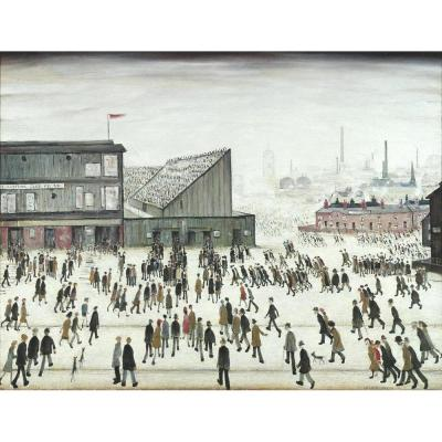L. S. Lowry, Going to the Match
