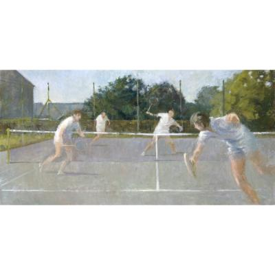 Lawrence Toynbee  – Tennis at Ganthorpe