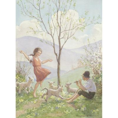 Margaret Tarrant, The Dance of the Lambkins