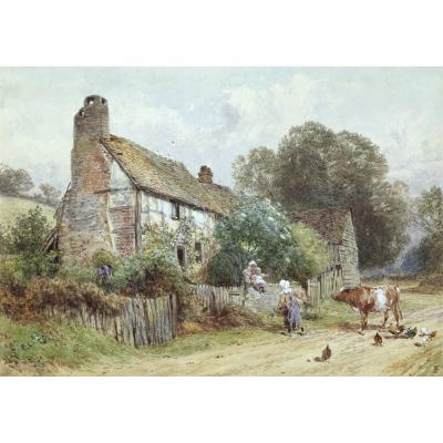 Foster, M B - An Old Country Cottage