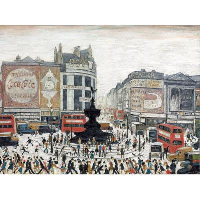Piccadilly Circus - MEDICI POSTCARDS
