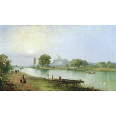W. B. Pyne – Windsor Castle from the River