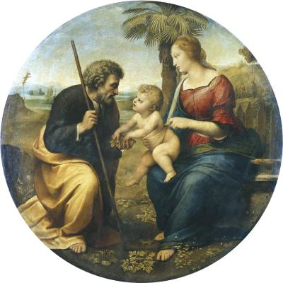 Raphael – The Holy Family with a Palm Tree