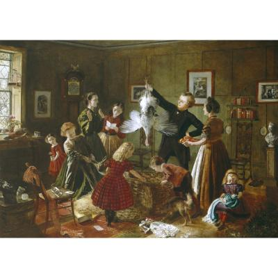 Robert Braithwaite Martineau – The Christmas Hamper