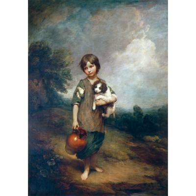 Thomas Gainsborough - A Cottage Girl