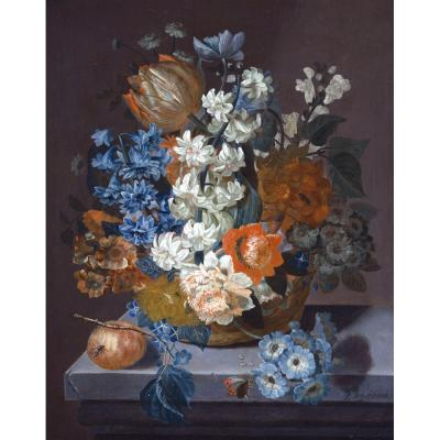 Pieter Hardime - Bouquet of Mixed Flowers
