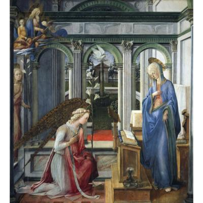 Filippo Lippi – The Annunciation