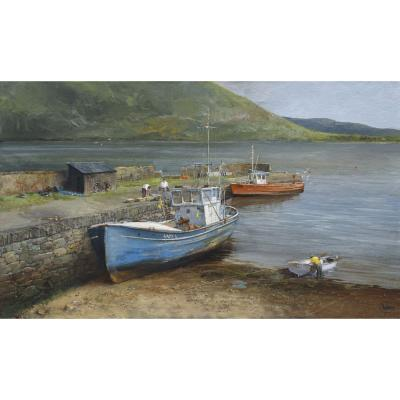 Clive Madgwick – Fishing Boats, Connemara