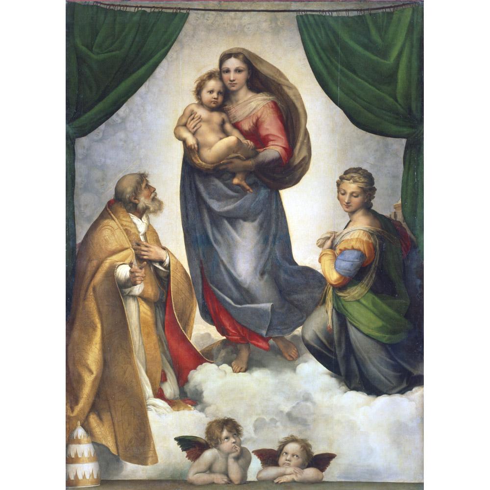 The Sistine Madonna of Raphael. Description of the picture 95