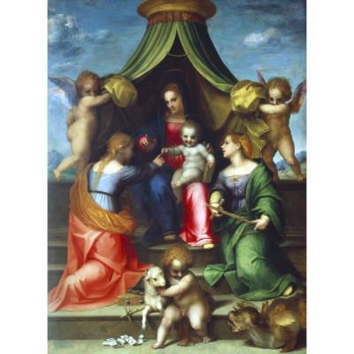 Andrea del Sarto – The Holy Marriage of St Catherine