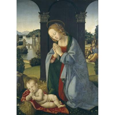 Lorenzo di Credi – The Holy Family