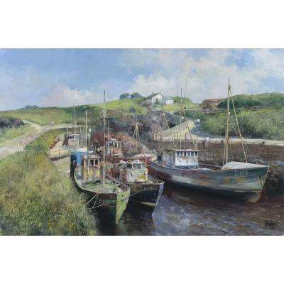 Clive Madgwick – Boating Scene