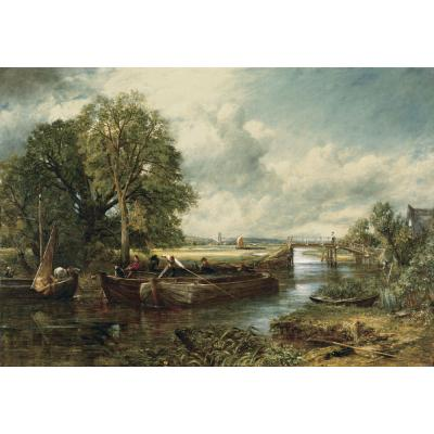 Constable, J - A View On The Stour Near Dedham
