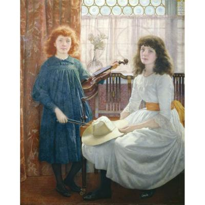 Edward Robert Hughes  – Bell and Dorothy
