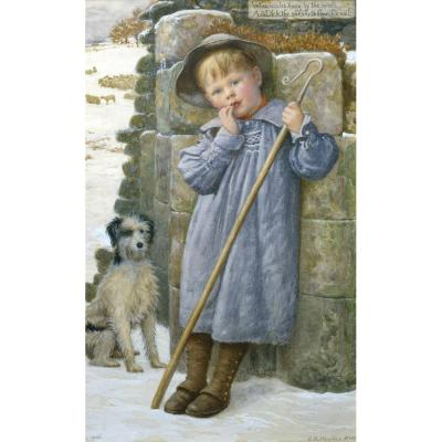 Edward Robert Hughes – Dick the Shepherd