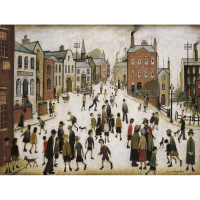 L. S. Lowry, A Village Square