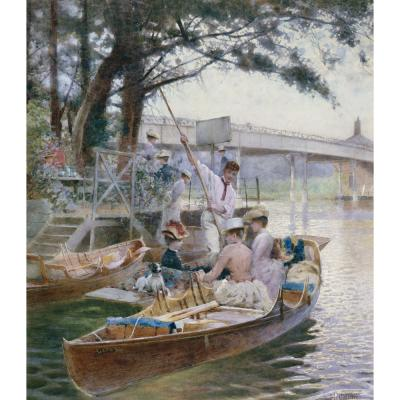 Caffieri, H - Cookham: The Boating Party
