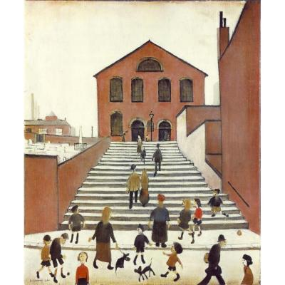 Old Church and Steps, Lowry, Medici