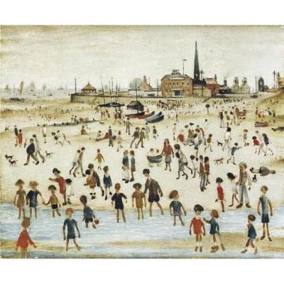 L. S. Lowry, At the Seaside