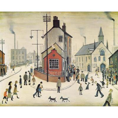 L. S. Lowry, A Street in Clitheroe