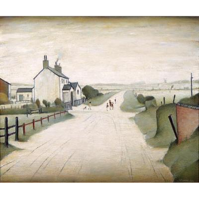A Country Road, Lowry, Medici
