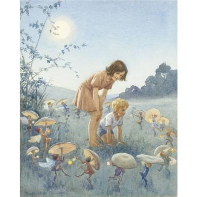 Margaret Tarrant-Midsummer Night