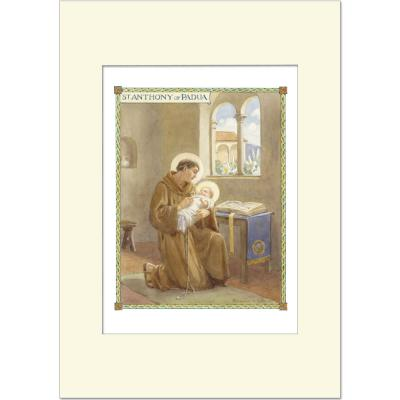 Margaret Tarrant-Saint Anthony of Padua