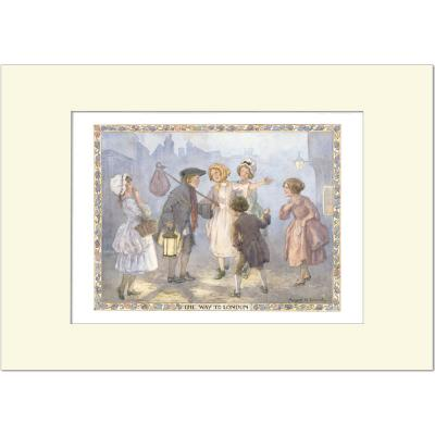 Margaret Tarrant-The Way to London