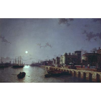 Henry Pether – Gun Wharf, The Tower of London