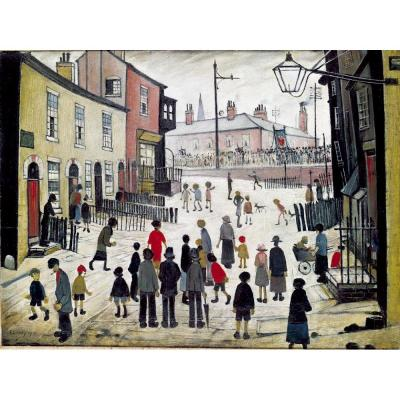 L. S. Lowry, A Procession