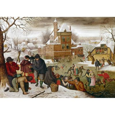 Pieter Brueghel the Younger – Winter Scene