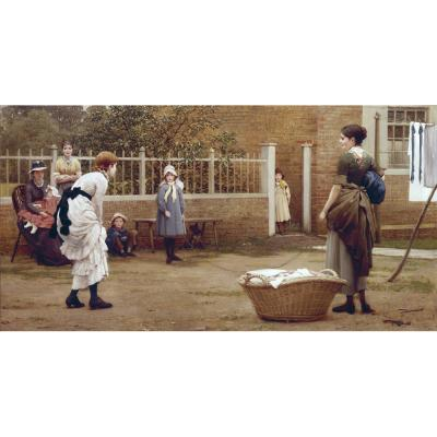George Dunlop Leslie – The Skipping Rope