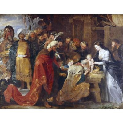 Peter Paul Rubens – The Adoration of the Magi