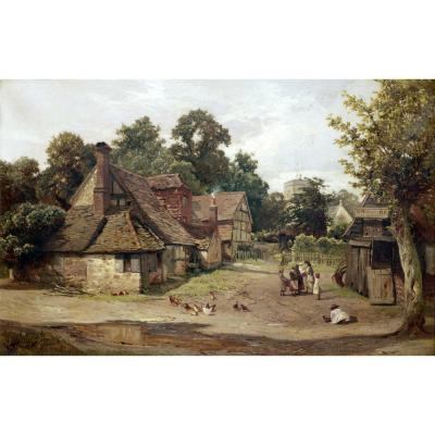 Edward Henry Holder – A Country Village