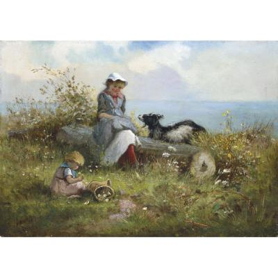 Fanny Mearns – Picking Wild Flowers