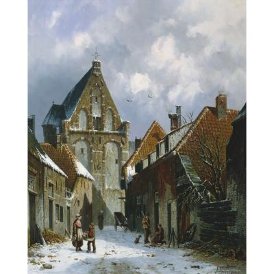 Adrian's Everest – Dutch Street Snow Scene