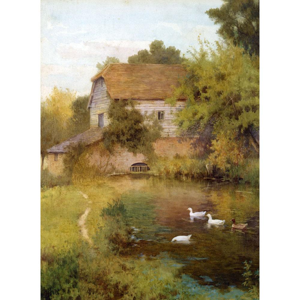 W Affleck Medici Print The Mill Pond