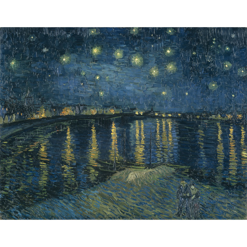 Starry Night Arles By Vincent Van Gogh Click Starry Vincent
