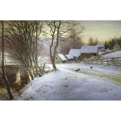 Joseph Farqrharson – A Winter's Morning
