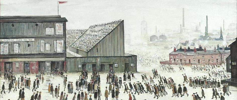 Going to the Match _ L S Lowry